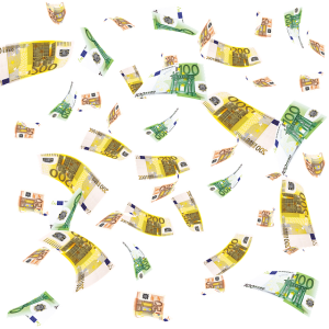 お金の行方