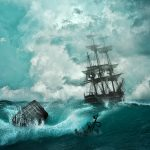 厳しい航海