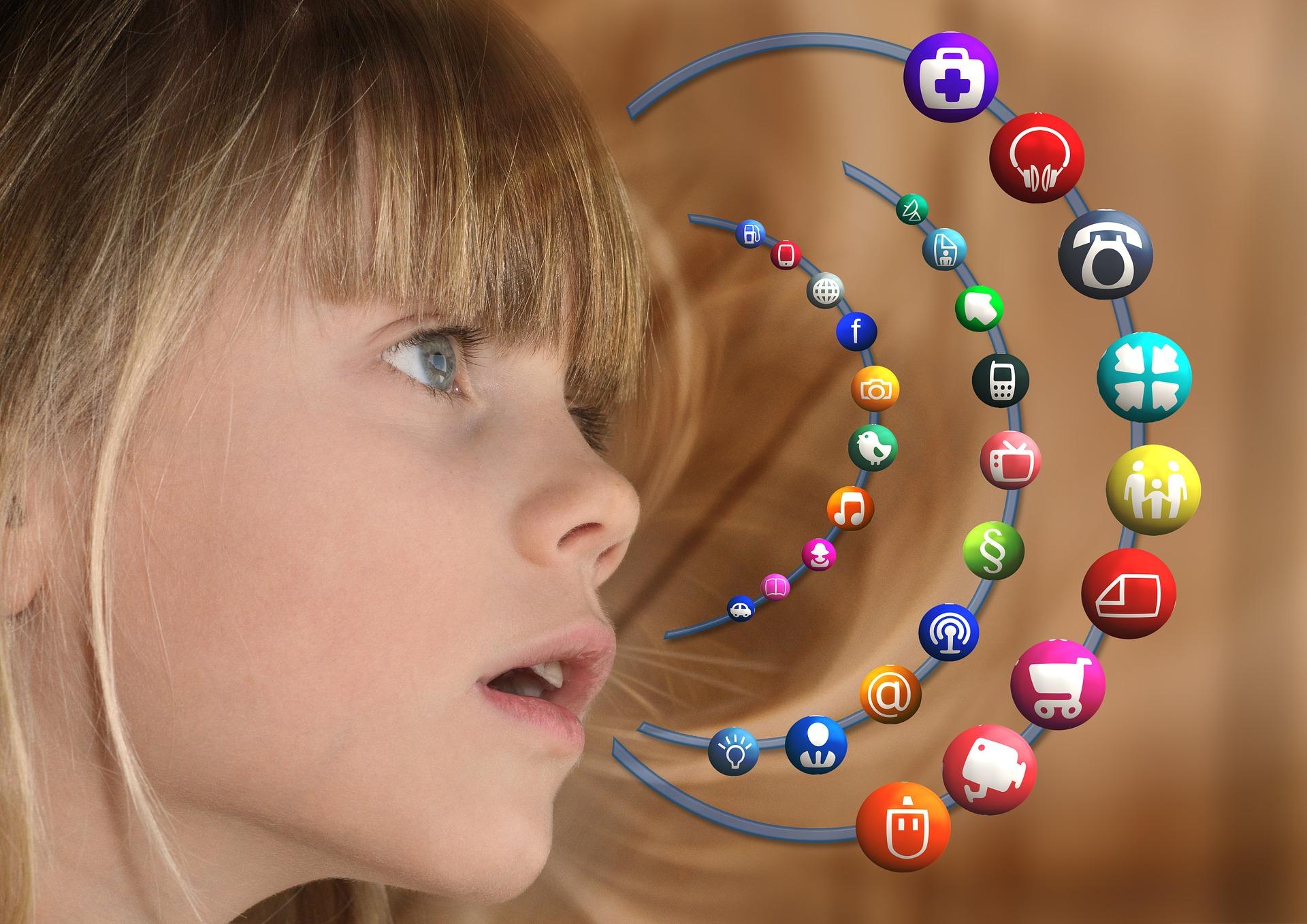 女の子とアプリ